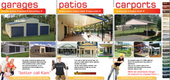 Kam Constructions Brochure Front Page